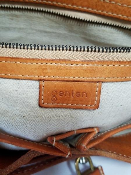 genten(ゲンテン) ショルダーバッグ ブラウン レザー