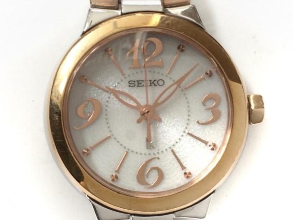 SEIKO(セイコー) 腕時計 ルキア V111-0AS0 レディース アイボリー