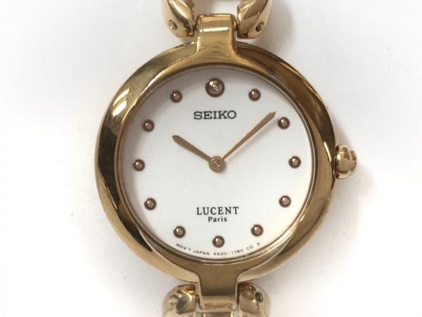 SEIKO(セイコー) 腕時計 4N20-0960 レディース アイボリー