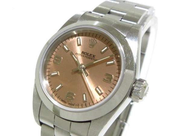 ロレックス 腕時計 オイスターパーペチュアル 67180 レディース SS/13コマ(フルコマ)