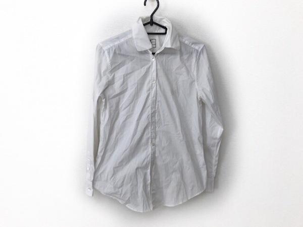 ケイタマルヤマ 長袖シャツブラウス サイズ1 S レディース新品同様  白 刺繍
