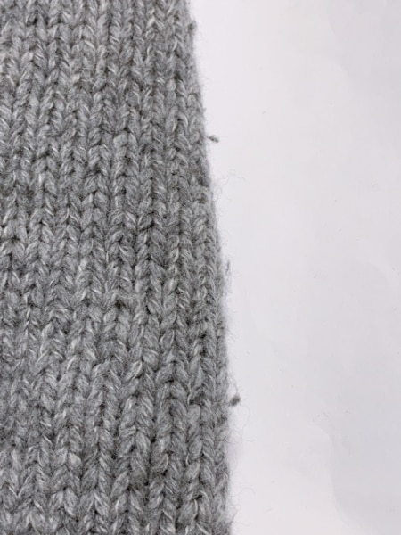 マルタンマルジェラ コート サイズXL レディース グレー 冬物/ニット