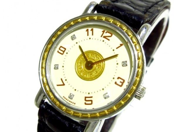 HERMES(エルメス) 腕時計 セリエ - レディース 5Pダイヤインデックス