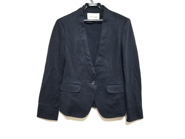 PaulStuart(ポールスチュアート) ジャケット サイズ6 M レディース美品  黒 肩パッド