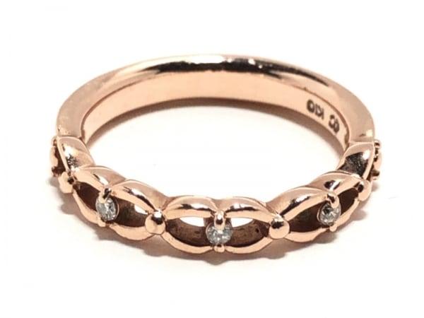 4℃(ヨンドシー) リング K10×ダイヤモンド 3Pダイヤ