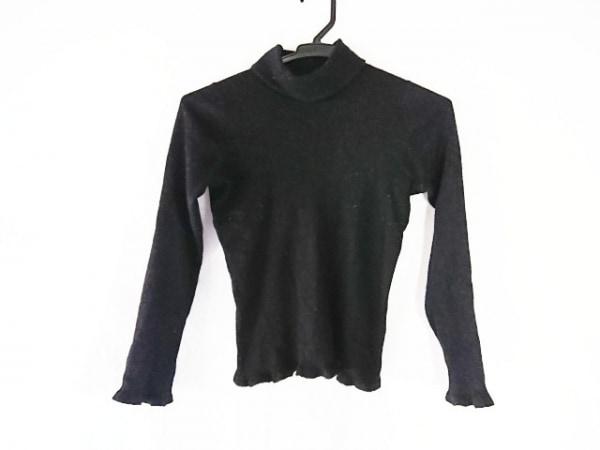 TO BE CHIC(トゥービーシック) 長袖セーター サイズ1 S レディース 黒