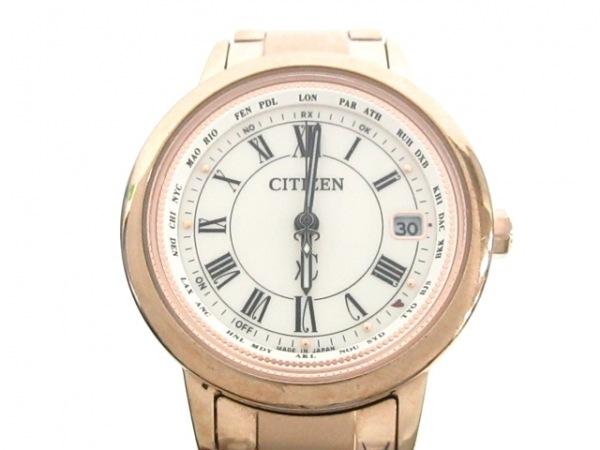 CITIZEN(シチズン) 腕時計 クロスシー H240-T022740 レディース アイボリー