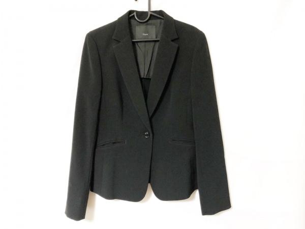 ICB(アイシービー) レディースパンツスーツ サイズ40 M レディース 黒 肩パッド