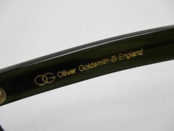 オリバーゴールドスミス メガネ 20-145 クリア×カーキ VICE CONSUL プラスチック