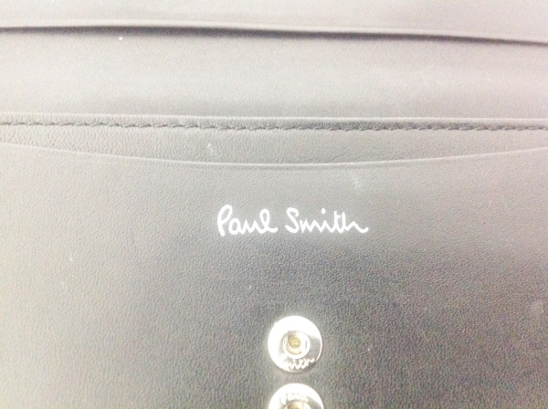 PaulSmith(ポールスミス) 長財布 黒 レザー