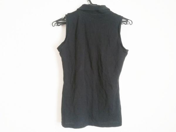 Lacoste(ラコステ) ノースリーブポロシャツ サイズ36 S レディース 黒