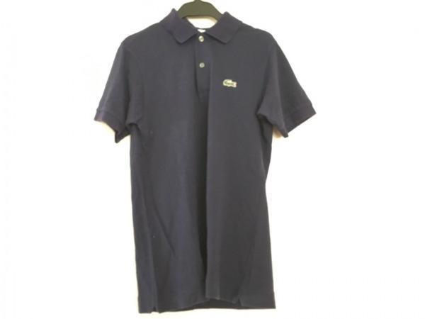 Lacoste(ラコステ) 半袖ポロシャツ サイズ2 M メンズ ネイビー