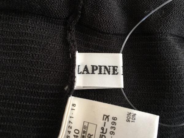 lapine blanche(ラピーヌブランシュ) ワンピース サイズ40 M レディース 黒 ビーズ