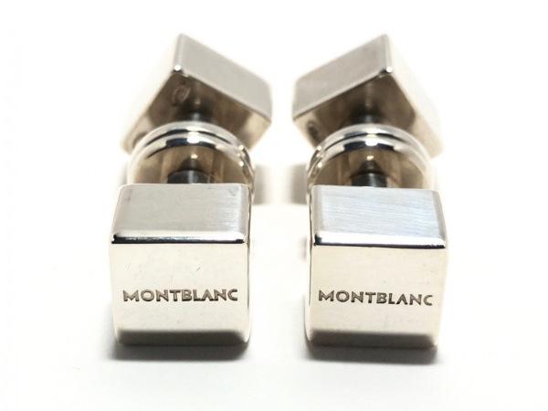 MONTBLANC(モンブラン) カフス美品  金属素材 シルバー