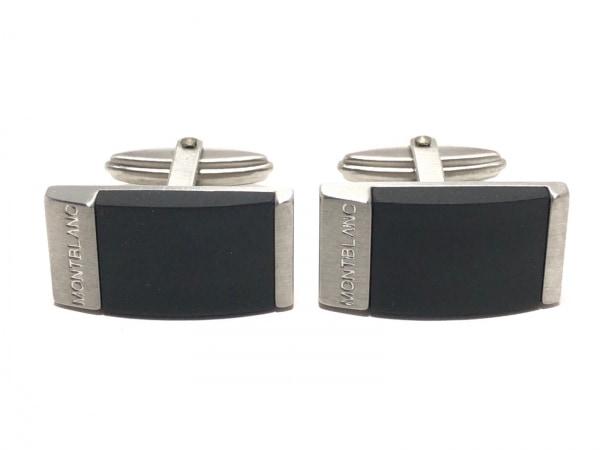 MONTBLANC(モンブラン) カフス美品  金属素材 ダークグレー×シルバー