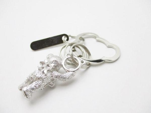 mikimoto(ミキモト) キーホルダー(チャーム)美品  シルバー クマ 金属素材