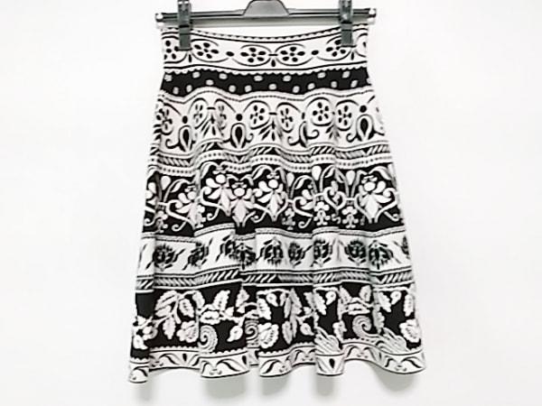 アレキサンダーマックイーン スカート サイズXS レディース美品  白×黒