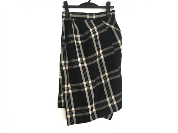 ヴィヴィアンウエストウッド スカート サイズ40 M レディース美品  黒×アイボリー