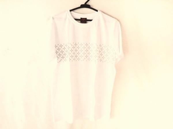 ナンバーナイン 半袖Tシャツ サイズF メンズ美品  白×グレー MARLBORO