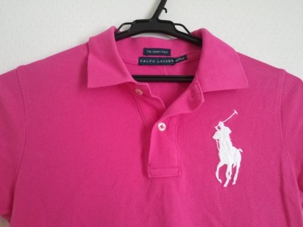 RalphLauren(ラルフローレン) 半袖ポロシャツ サイズM レディース美品  ピンク