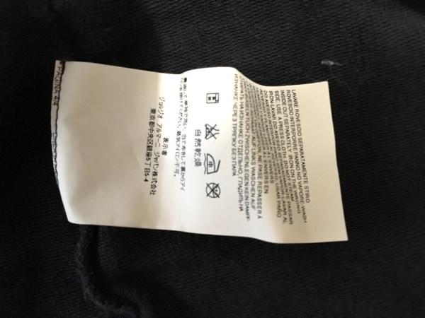 アルマーニジーンズ パーカー サイズXL メンズ ダークグレー×白×ライトグレー