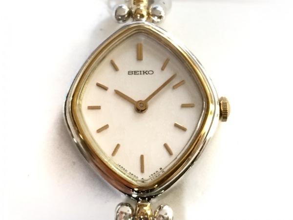 SEIKO(セイコー) 腕時計美品  2P20-5990 レディース アイボリー
