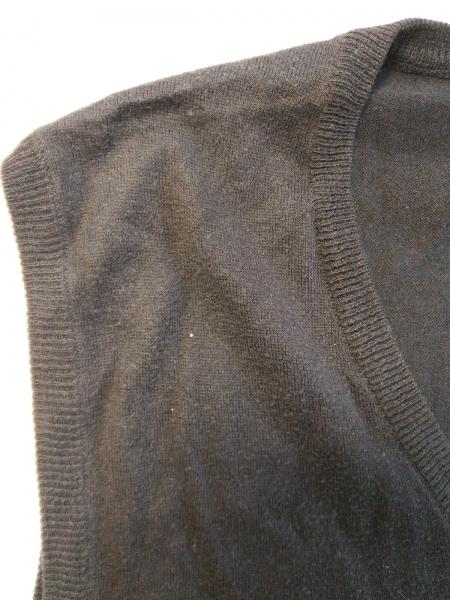 ポロラルフローレン ノースリーブセーター サイズL レディース 黒 カシミヤ混