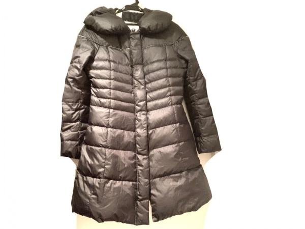 トゥービーシック ダウンコート サイズ40 M レディース  黒 冬物/ラインストーン
