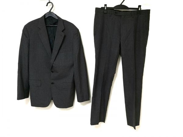 ESTNATION(エストネーション) シングルスーツ メンズ グレー 肩パッド