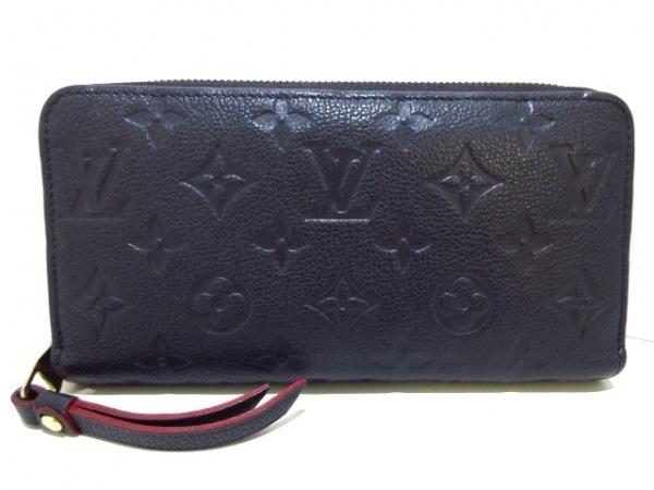 designer fashion 4afa7 5c711 ルイヴィトン 長財布 モノグラム・アンプラント美品 ジッピー・ウォレット M62121