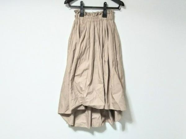 ダブルスタンダードクロージング スカート サイズ36 S レディース美品  ベージュ