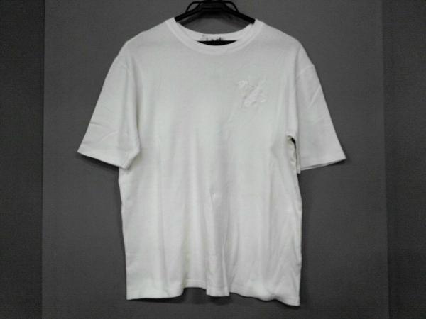 HERMES(エルメス) 半袖Tシャツ サイズ46 XL レディース美品  白