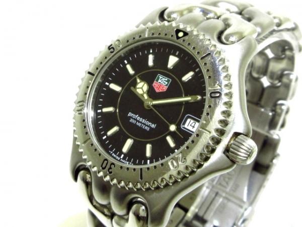 TAG Heuer(タグホイヤー) 腕時計 WG1118 メンズ 黒