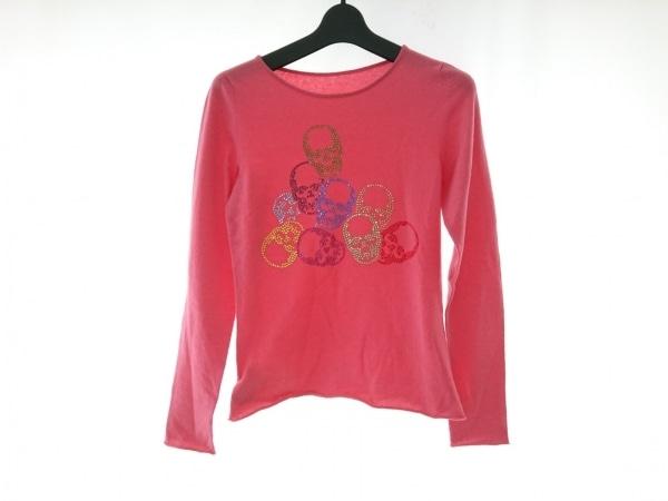lucien pellat-finet(ルシアンペラフィネ) 長袖セーター サイズS レディース ピンク