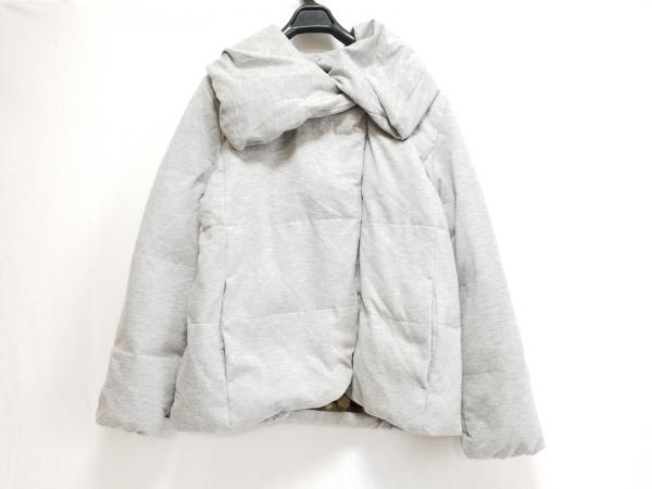 Bou Jeloud(ブージュルード) ダウンジャケット サイズ38 M レディース グレー 冬物