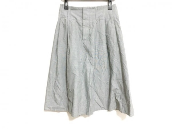 MargaretHowell(マーガレットハウエル) スカート サイズ1 S レディース美品  グレー