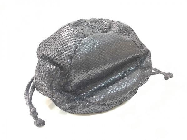 ENCHANTEMENT...?(アンシャントマン) ハンドバッグ ダークグレー 化学繊維
