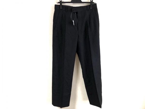 クリスチャンディオールムッシュ パンツ サイズ73 メンズ美品  黒