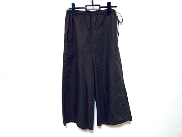 JURGEN LEHL(ヨーガンレール) パンツ サイズM レディース美品  ブラウン