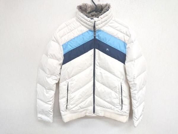 バーバリーブラックレーベル ダウンジャケット サイズL メンズ 冬物/ファー