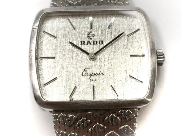 RADO(ラドー) 腕時計美品  - メンズ シルバー