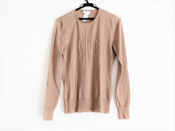 CELINE(セリーヌ) 長袖セーター サイズM レディース美品  ライトブラウン