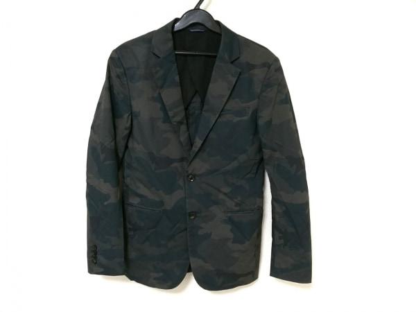 jun hashimoto(ジュンハシモト) ジャケット メンズ カーキ×ブラウン×マルチ 迷彩柄