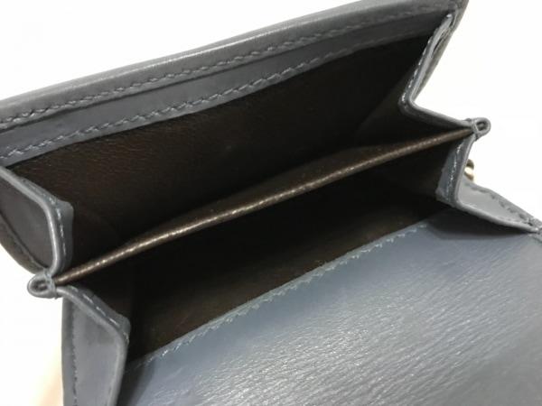 GUCCI(グッチ) Wホック財布 GG柄 256442 ベージュ×ダークブラウン×グレー