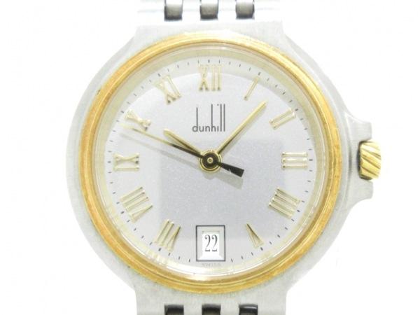dunhill/ALFREDDUNHILL(ダンヒル) 腕時計美品  エリート - レディース シルバー