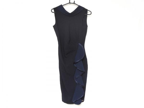 rinascimento(リナッシメント) ドレス サイズXS レディース美品  黒×ダークネイビー