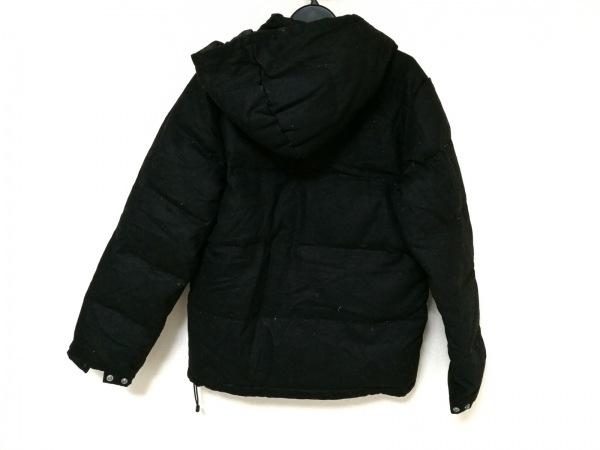 SHIPS(シップス) ダウンジャケット メンズ 黒 ジップアップ/冬物