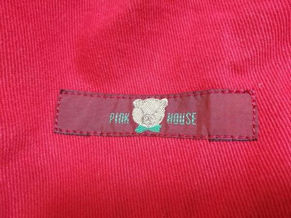 ピンクハウス ロングスカート レディース レッド×ベージュ×グリーン クマ