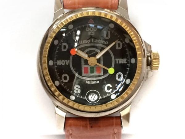 Ritmo Latino(リトモラティーノ) 腕時計 - レディース 黒