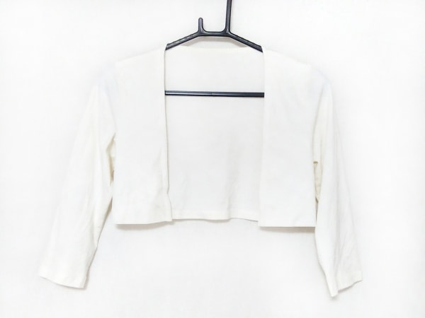 Tiaclasse(ティアクラッセ) ボレロ サイズM レディース美品  白